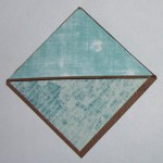 teal corner bookmark