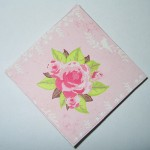 pink corner bookmark, back
